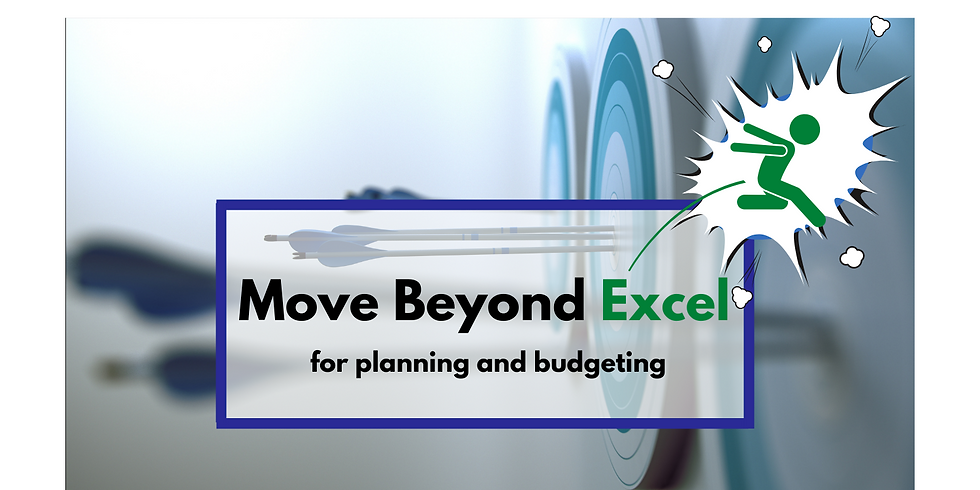 What you need beyond Excel for Planning & Budgeting