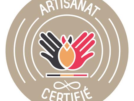 Obtention du label d'Artisan par le SPF Economie!