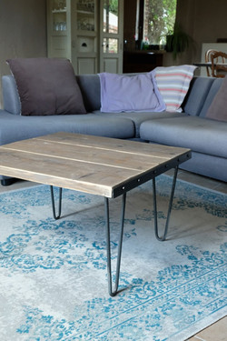 Axel Rons - Table basse bois métal