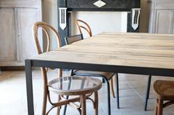 Axel Rons - Table salle à manger industrielle