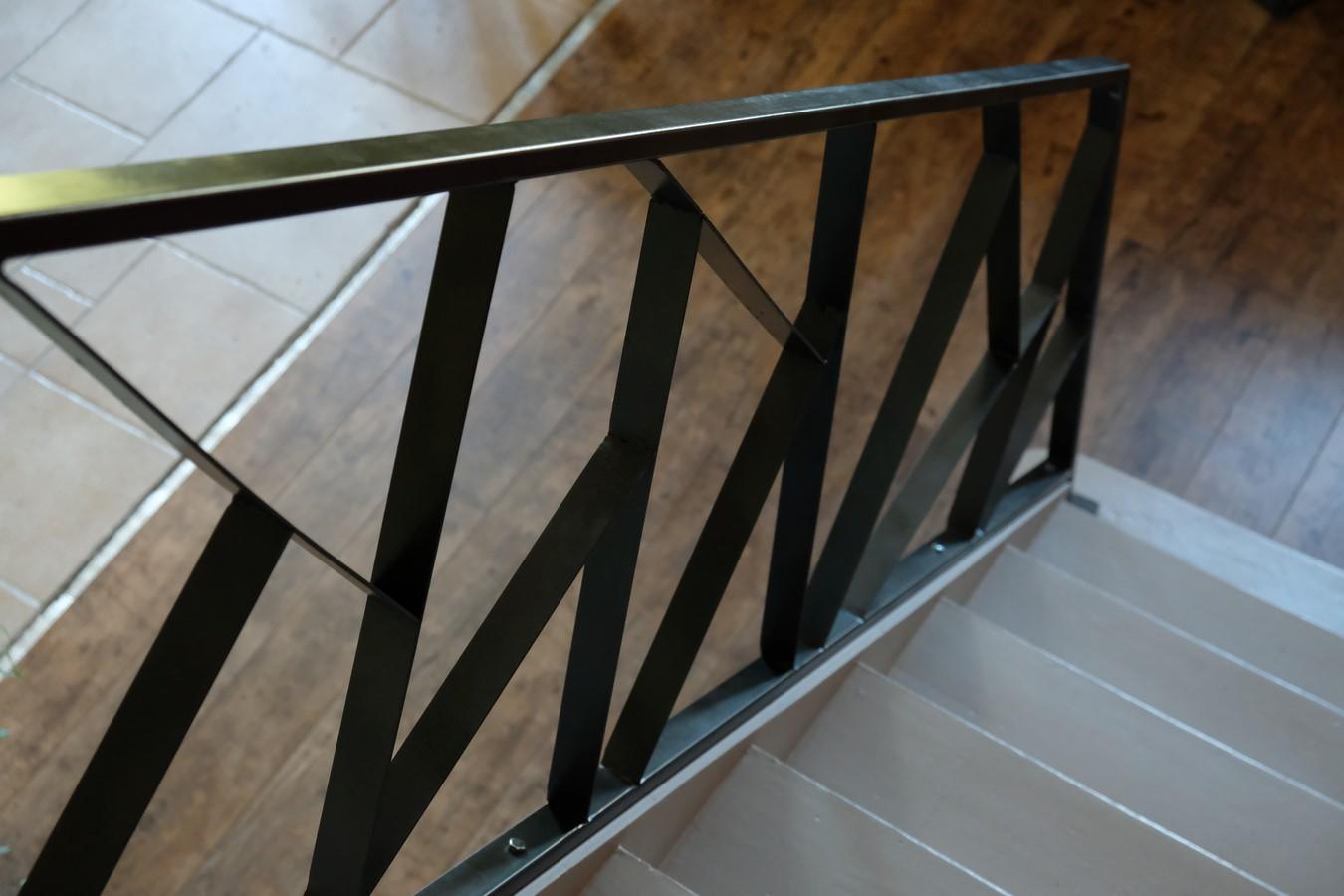 Axel Rons - Rampe escalier