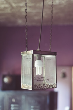 Suspension lustre photophore