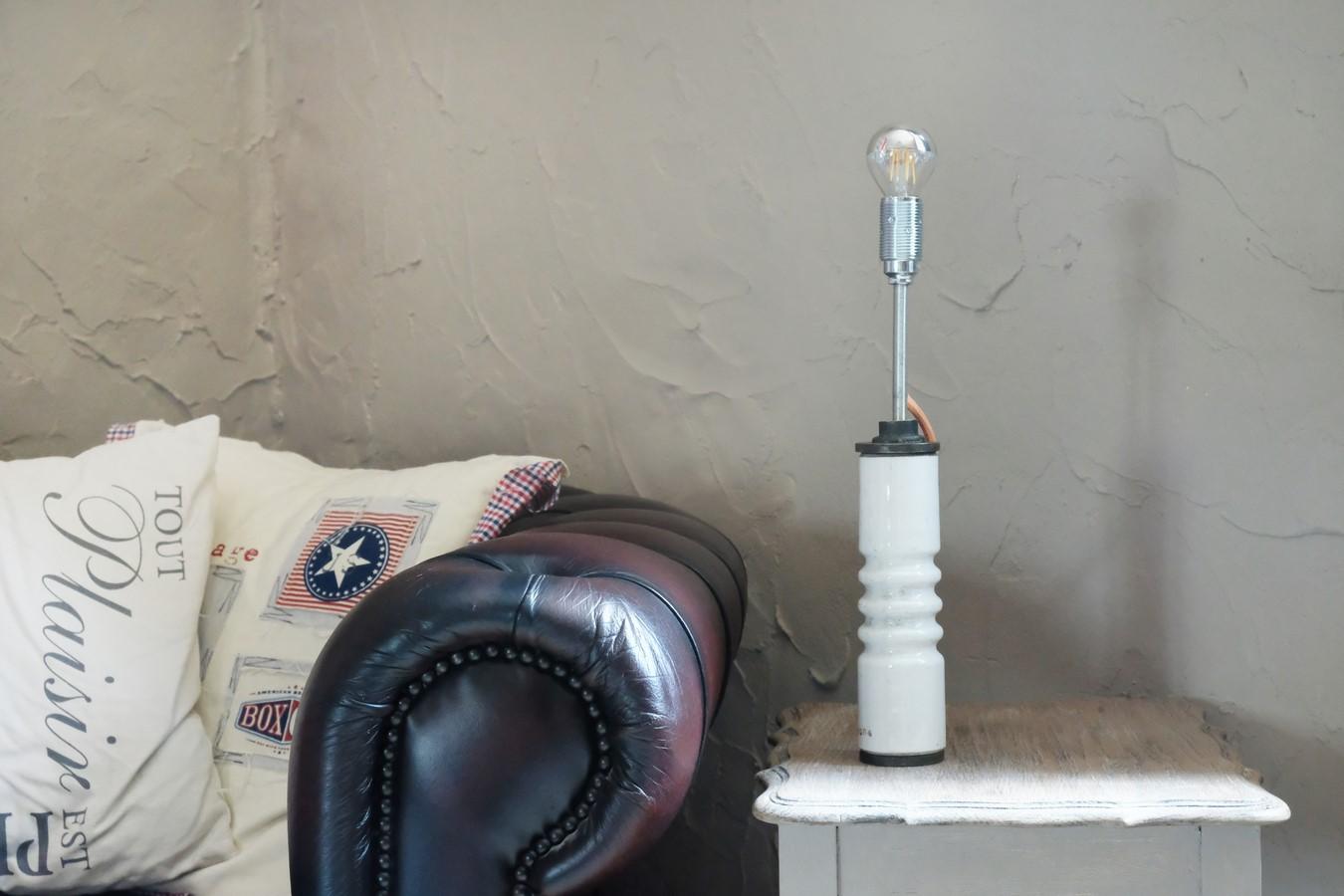 Lampe porcelaine