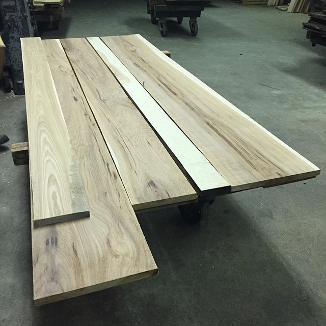 Planed Hickory