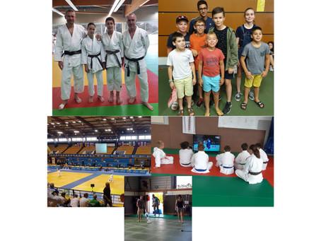 Le judo l'été !