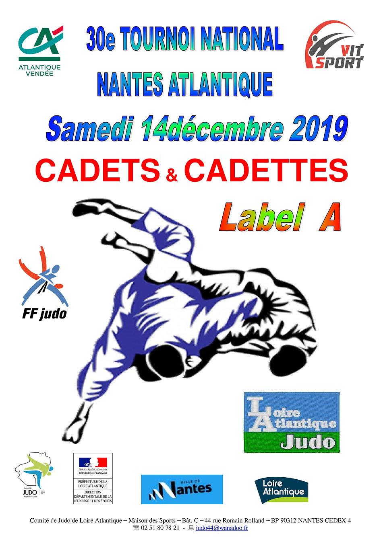 Plaquette TOURNOI DE NANTES CADETS_TES l