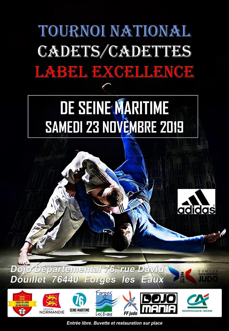 Tournoi National Cadets-Cadettes Label E
