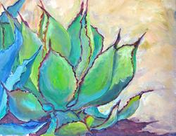 Van Gogh-ish Agaves