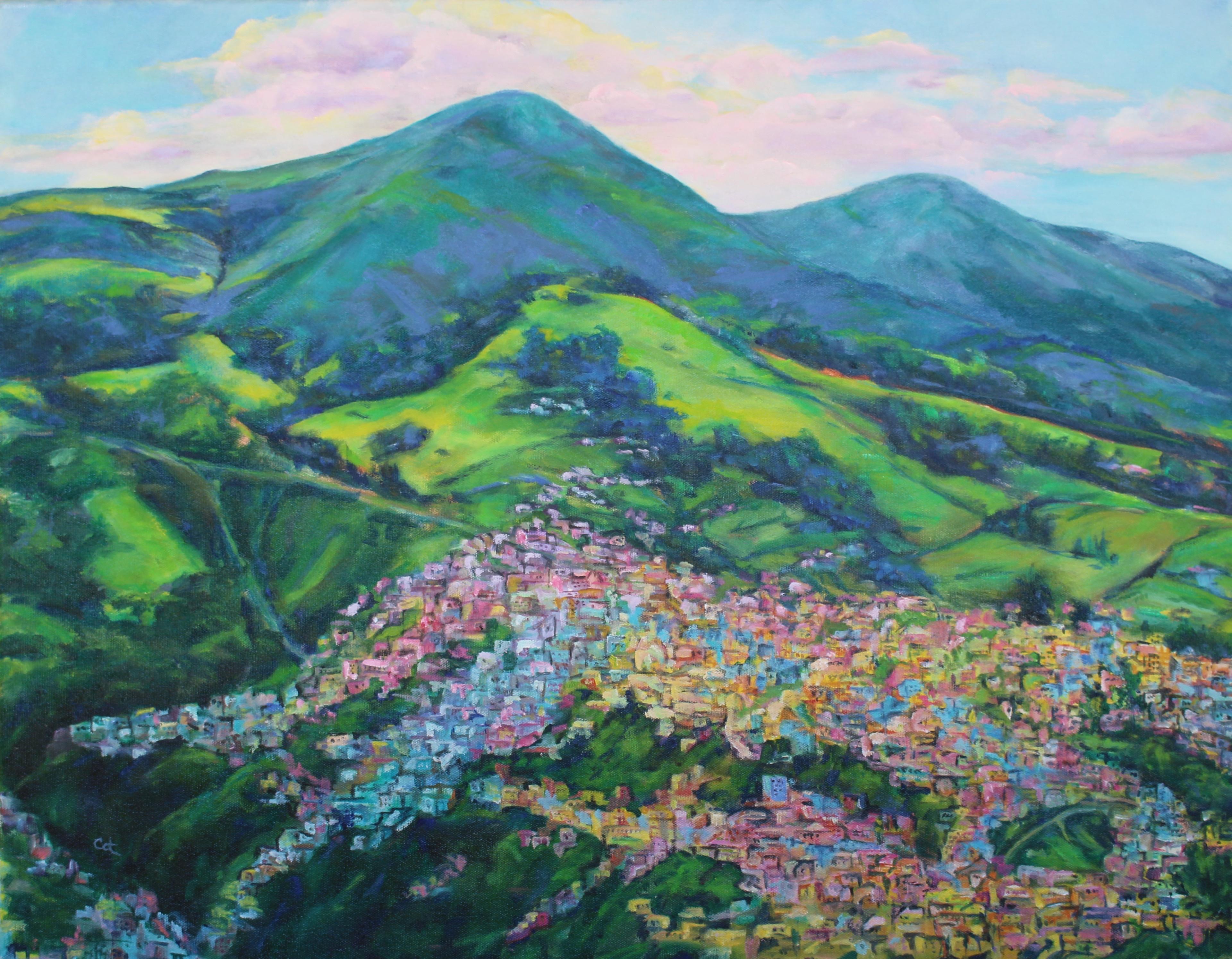 View from El Panecillio, Ecuador II