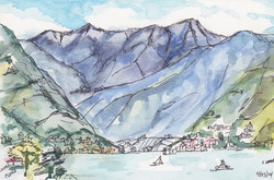 View From Villa Flora, Como
