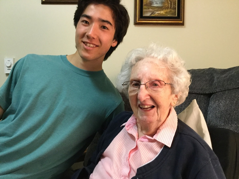 Senior Mori Hays Giving Voice to Marge Ward