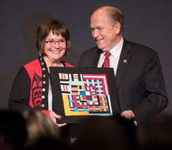 Susan Anderson, Governor Walker