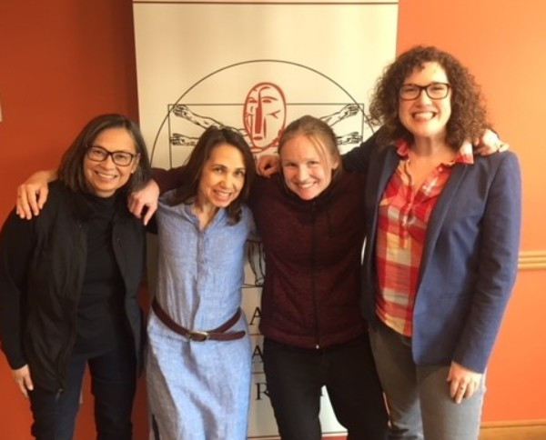 Carmen Davis, Rayette Sterling, Kari Lovett, Amanda Dale (left to right)