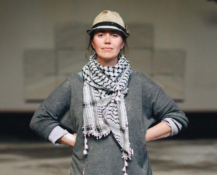 Sarah Davies. Photo by Charles Tice.