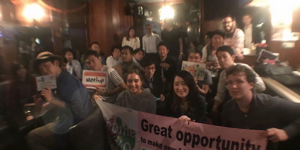 ★☆Exciting&Fun Language Exchange@International cafe&bar Shinjuku 楽しい言語交換Meetup@新大久保☆★