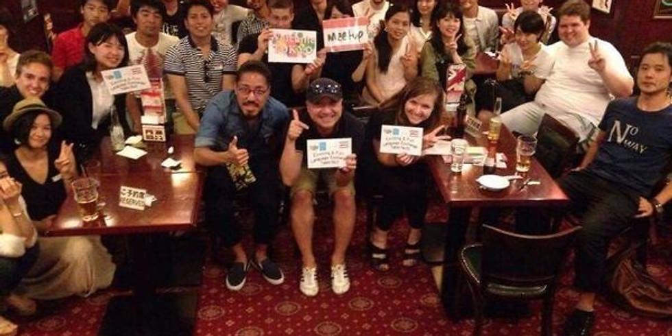 Exciting & Fun Language Exchange @Irish Pub Shimbashi Celts☆楽しい言語交換Meetup@新橋