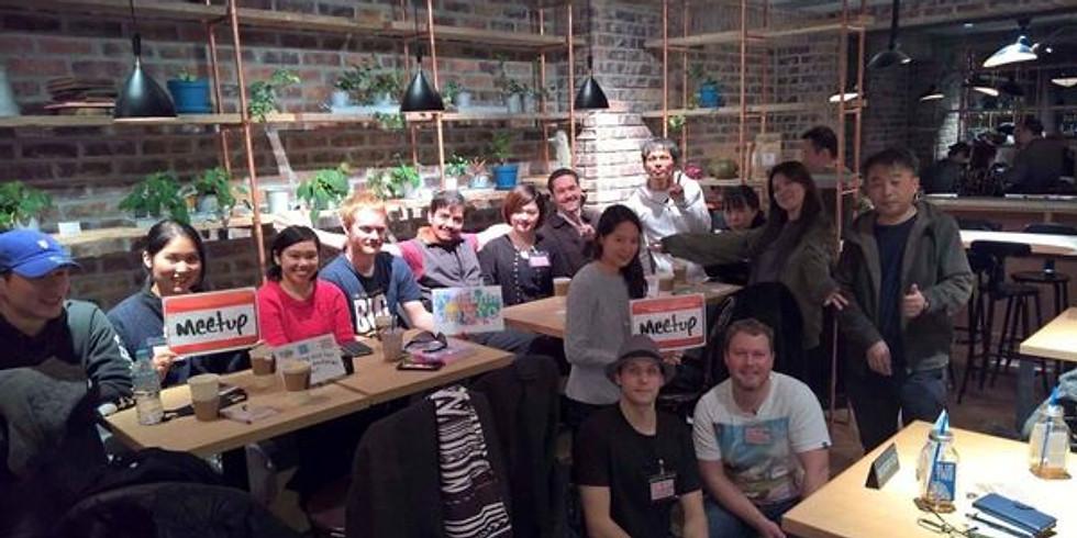 🌺Afternoon Exciting&Fun Language Exchange@Shibuya Hawaii style cafe/楽しい言語交換BlueTree🌺