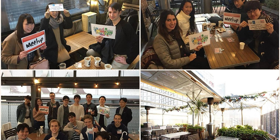 """★☆Afternoon Exciting & Fun Language Exchange @ Shinjuku """"J.S. Burgers Cafe""""☆★🍔"""