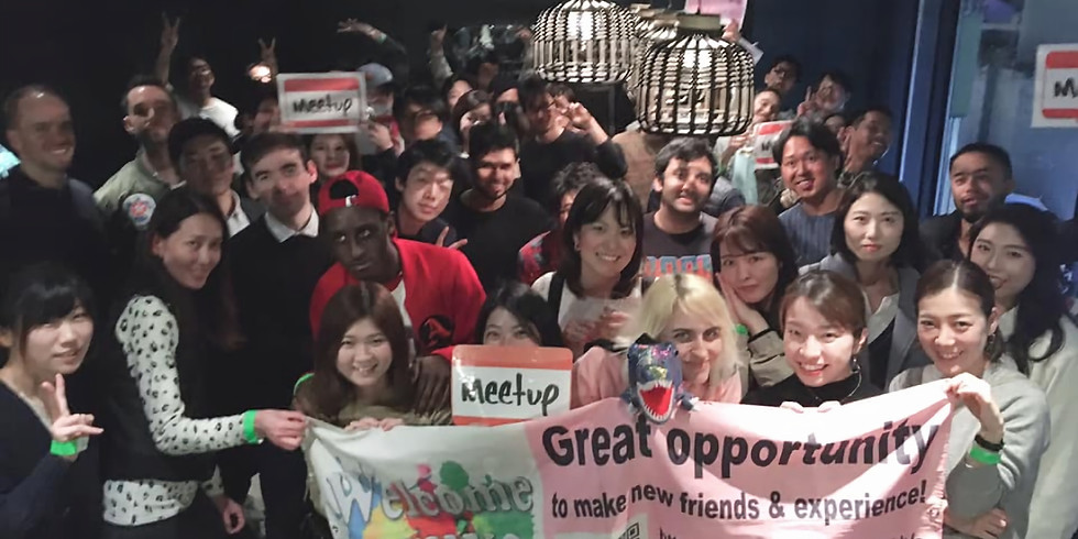 Saturday Shuffle & Friending Meetup @Shibuya