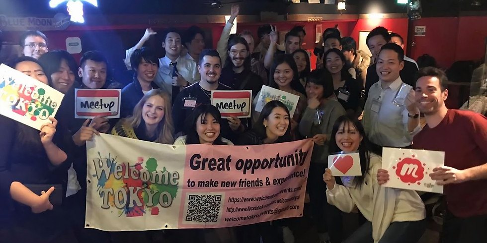 20's 30's Make Friends Meetup @Shibuya