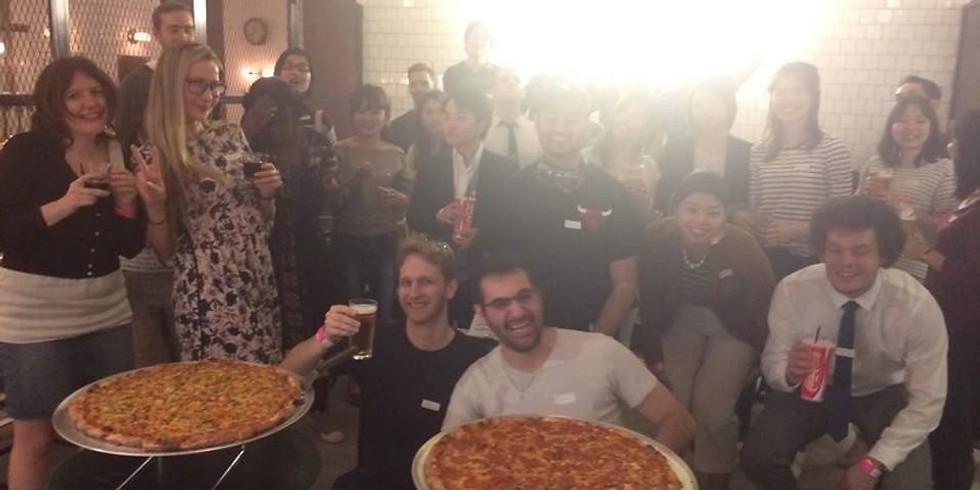 Canceled) 🍕Happy Pizza Fun Chat & Games Meetup@New York Style Venue Harajuku 表参道🍕国際交流