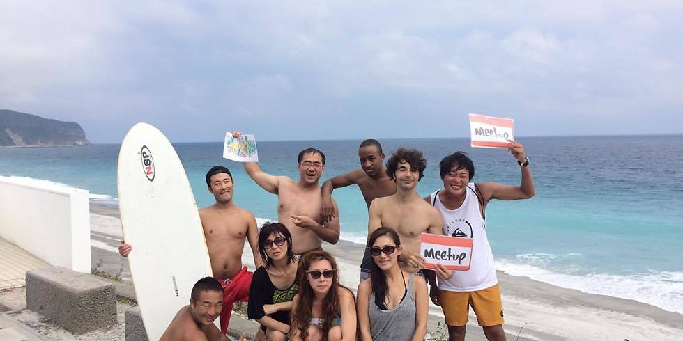 Adventure Tropical Island Niijima white beach in Tokyo ロングホワイトビーチ!ゲストハウス貸し切り KENTAROH
