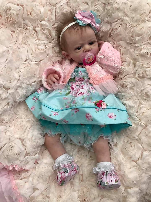Silicone Full Body baby Erin.... finished baby girl