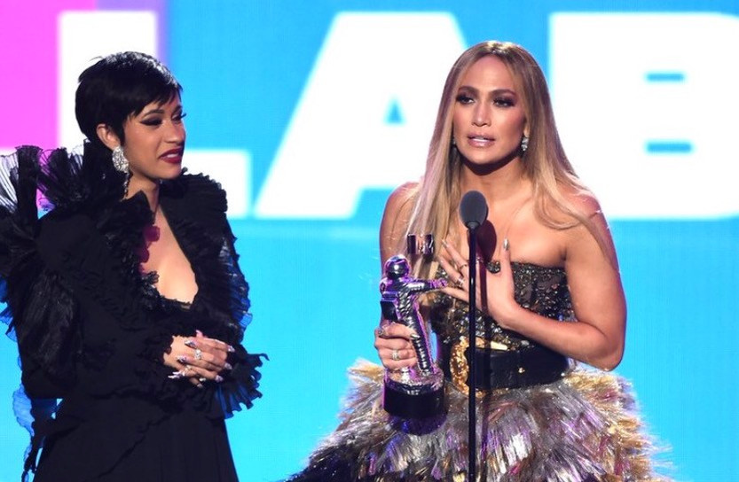 'This Is America,' Cardi B., J. Lo Win VMAs; Aerosmith Plays With Post Malone