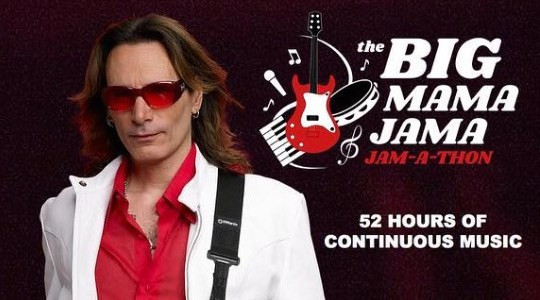 Steve Vai to Host 'Big Mama Jama' Jam-a-Thon Sept. 28-30