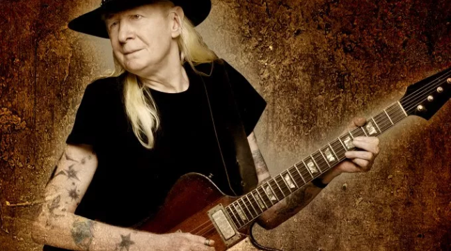 Johnny Winter's Interview with California Rocker