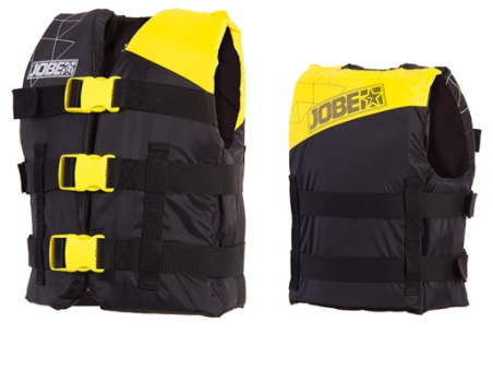 Colete Jobe15 Progress Nylon Vest Youth Amarelo