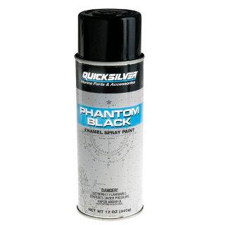 Spray Tinta (Phatom Black) Quicksilver