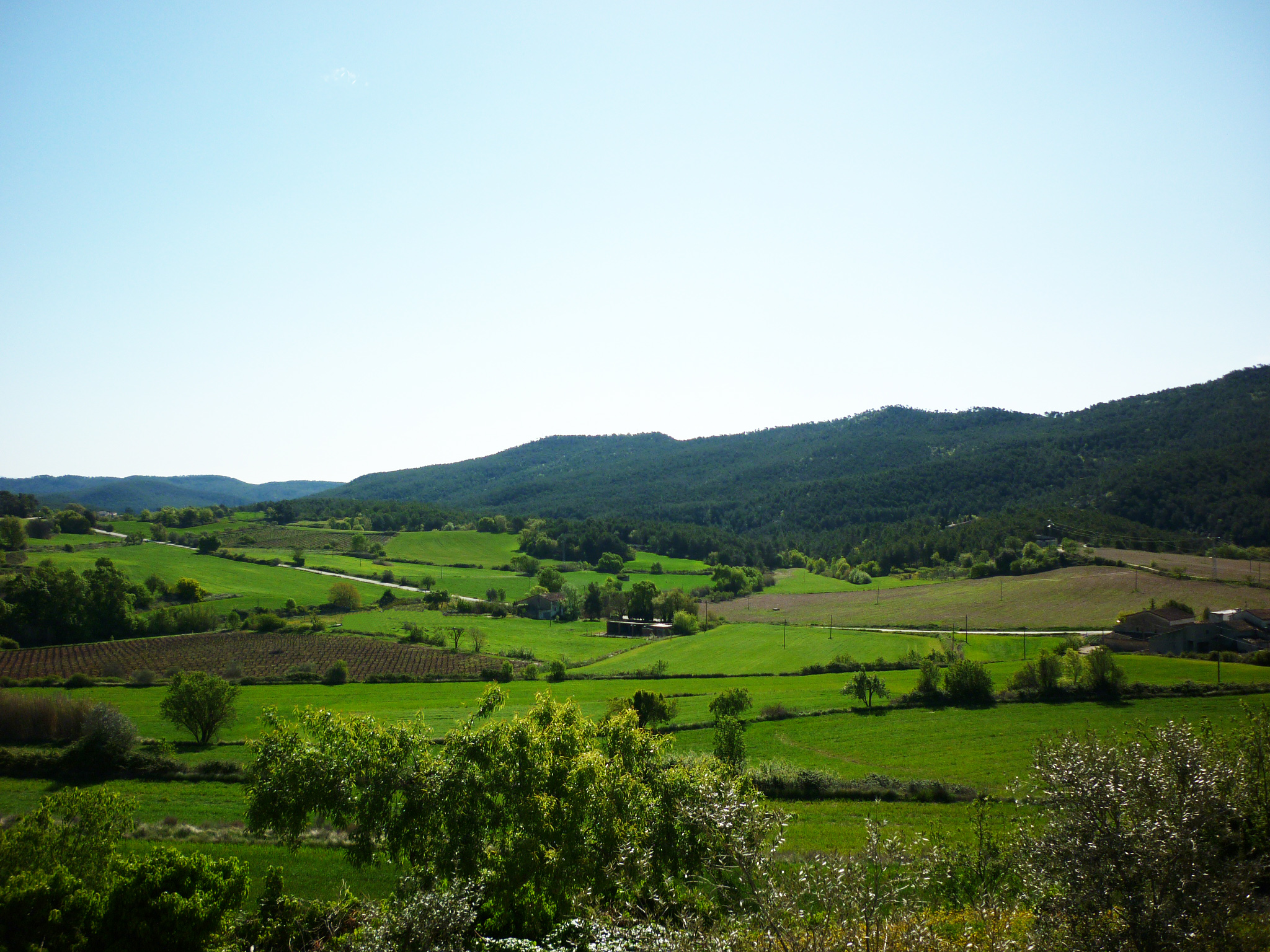Vista paisatge