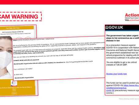 Action Fraud: Scam Warning