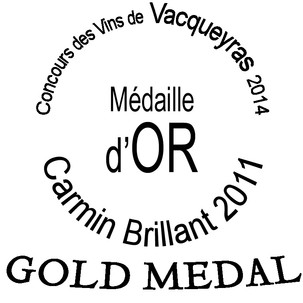 2011, Or - Jury Consommateurs Vacqueyras