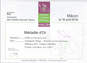 2013, Or - Mâcon