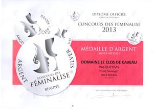 2011, Argent - Féminalise