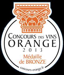 2012, Bronze - Concours des Vins d'Orange