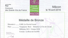 2015, Bronze - Mâcon