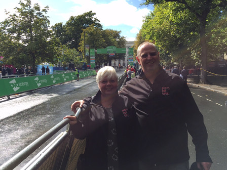 Over at the Tour of Britain in Cheltenham