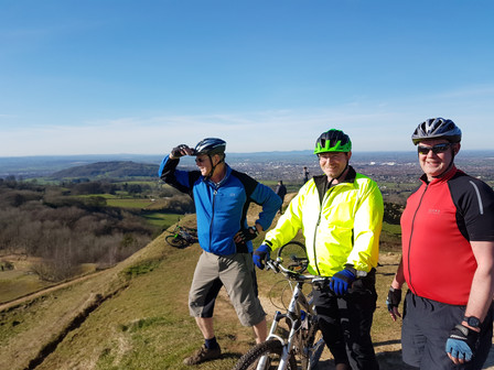 Great mountain bike ride out on Saturday in the sunshine!