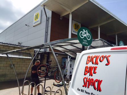 Morrisons Dr Bike Session