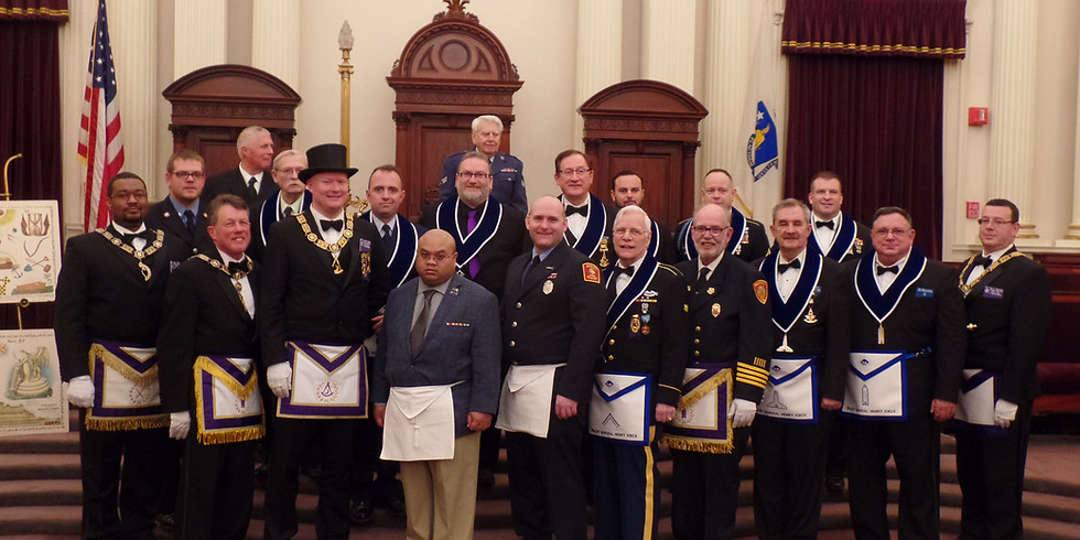 Special Meeting and 1st Degree