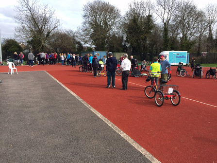 Down at the Gloucestershire Wheels for All open day