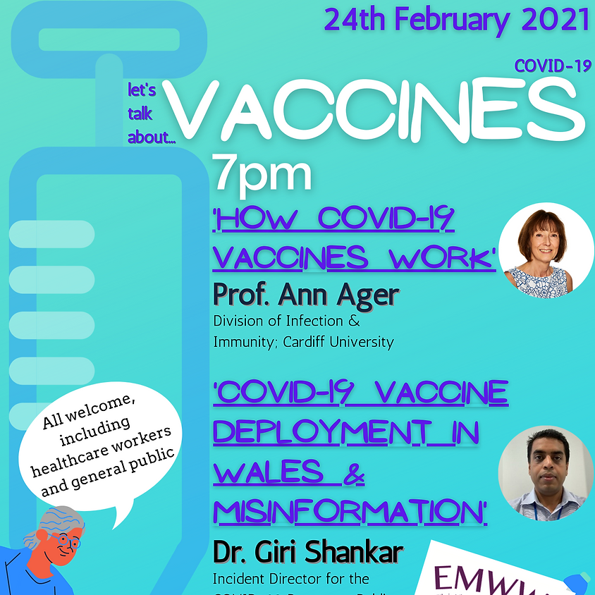 EMWWH Virtual Public Health Lecture: How COVID-19 Vaccines work?