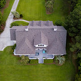 Aerial View of a Beautiful Real Estate Property
