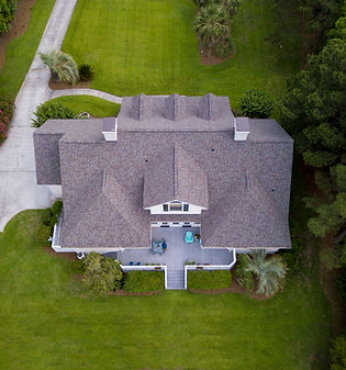 Aerial View of a Beautiful Property