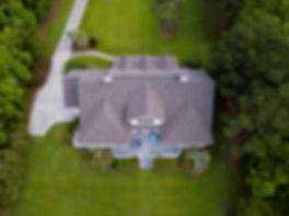 Luftbild von einem schönen Anwesen