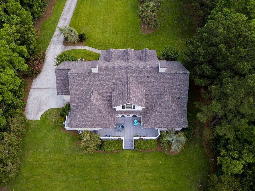 Aerial View of a Barrie Roof