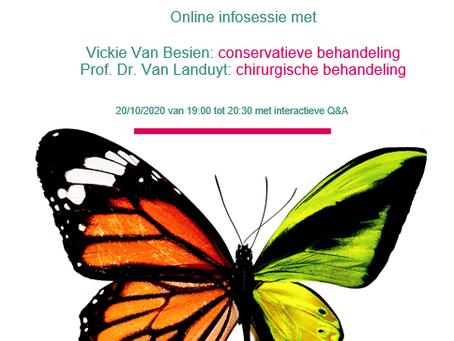 Online info-avond Lymfoedeem
